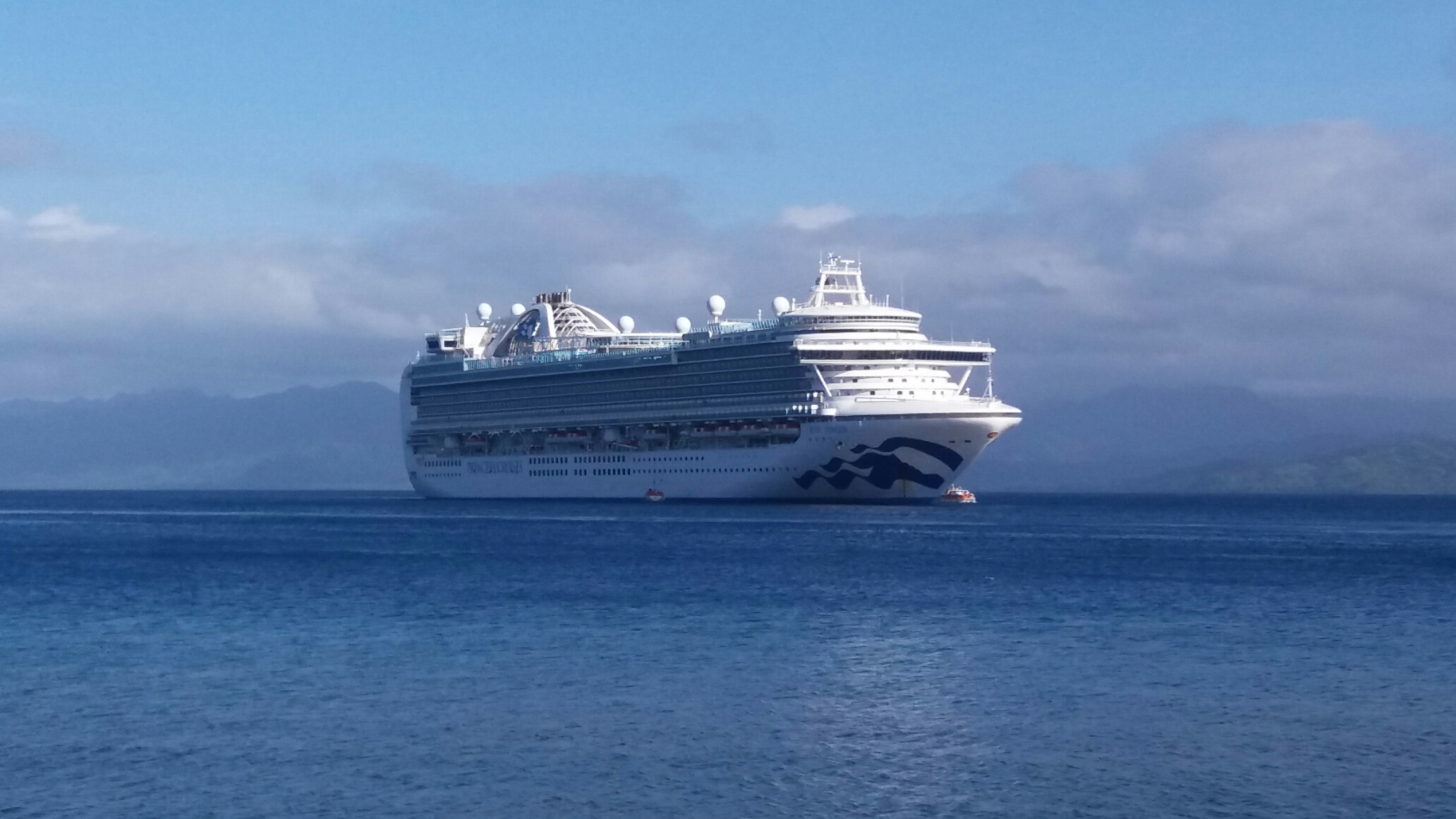 The Princess Cruises lines vessel